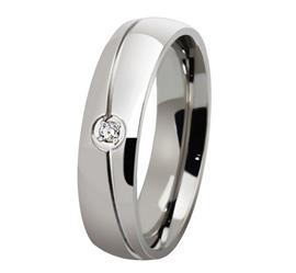Обручальное кольцо дизайнерское из белого золота с бриллиантами, артикул R-ТС AL2322-1
