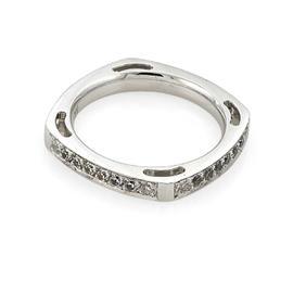 Эксклюзивное обручальное кольцо с бриллиантами из золота 585 пробы, артикул R-А3707
