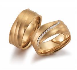 Обручальные кольца с бриллиантами, артикул R-ТС 1568