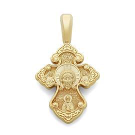Православный крест Нерукотворный образ Иисуса Христа, святой Спиридон Тримифунтский, артикул R-KRZ0602-1