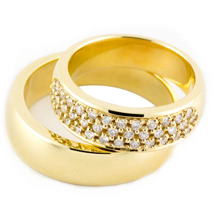 модели колец из золота