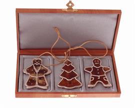 Новогодний  набор подарок сувенир  с янтарём , артикул R-sv-NY-3
