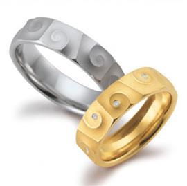 Обручальные кольца с бриллиантами, артикул R-ТС 1569