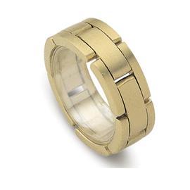 Обручальное кольцо из желтого золота 585 пробы, артикул R-ДК 001