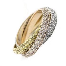 Обручальное кольцо с бриллиантами, артикул R-1575-1