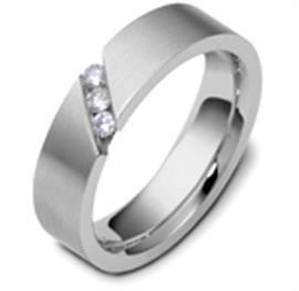 Обручальное кольцо с бриллиантами из золота 585 пробы, артикул R-1668/001