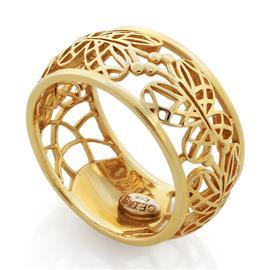Кольцо из желтого золота 585 пробы , артикул R-GT-0728-1