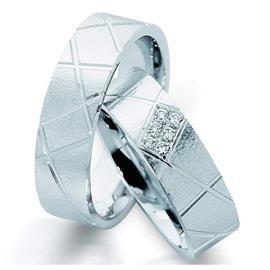 """Обручальные кольца парные с бриллиантами серии """"Twin set"""", артикул R-ТС 3260/001"""