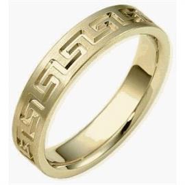 Обручальное кольцо из золота 585 пробы, артикул R-1794-1