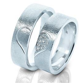 Дизайнерские обручальные кольца парные, артикул R-ТС 3217-2