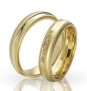 Дизайнерские обручальные кольца парные, арт. R-ТС 1564
