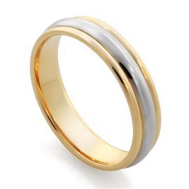 Обручальное кольцо из золота 585 пробы, артикул R-F1083
