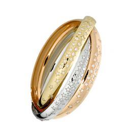 Обручальное кольцо с бриллиантами, артикул R-1575-3