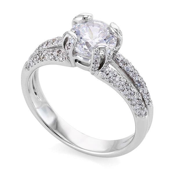 золотые помолвочные кольца