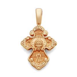 Православный крест Нерукотворный образ Иисуса Христа, святой Спиридон Тримифунтский, артикул R-KRZ0601-3