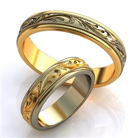 Обручальные кольца 585°, артикул R-obr-156