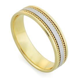 Кольцо обручальное  из золота 585 пробы, артикул R-1165