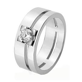 Обручальное кольцо с бриллиантами, артикул R-1577