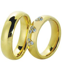 Обручальные кольца парные с бриллиантами серии