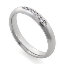 Обручальные кольца с бриллиантами 0,18 ct 4/5 белое золото 585°, артикул R-A14047-2