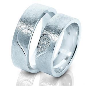 Дизайнерские обручальные кольца парные, арт. R-ТС 3217-2