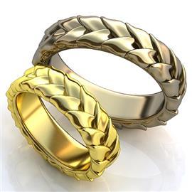 Обручальные кольца 585°, артикул R-obr-256