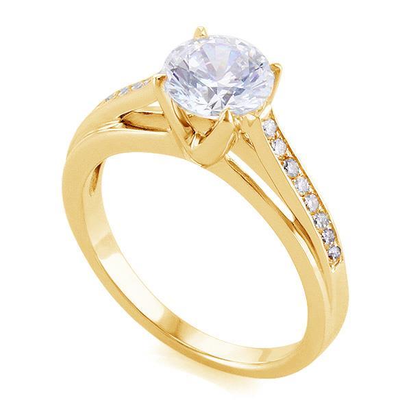 золотые кольца каталог фото 585 с камнями