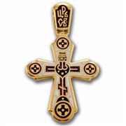 Крест нательный Голгофа. Свет Христов Просвещает Всех, артикул R-103.018