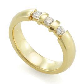 Обручальное кольцо с бриллиантами, артикул R-10030-1