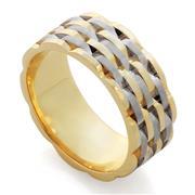 Обручальное кольцо из золота 585 пробы, артикул R-RT104
