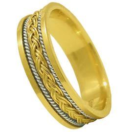 Обручальное кольцо из золота 585 пробы, артикул R-1017