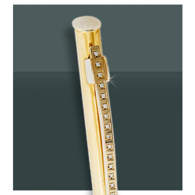 Золотая шариковая ручка 585 пробы, артикул R-0022