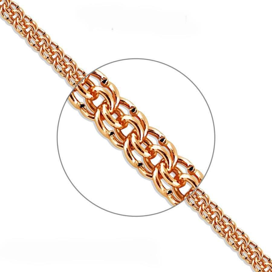 плетение гарибальди фото золото