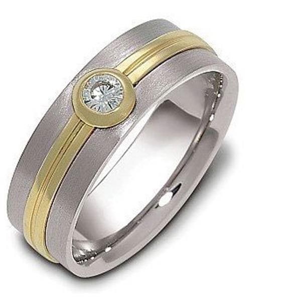 Кольцо обручальное 750