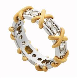 """Эксклюзивное, оригинальное и стильное обручальное кольцо ручной работы из коллекции """"Версаль"""", артикул R-V-175"""