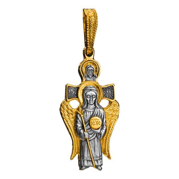 Образок нательный православный «Ангел Великого Совета