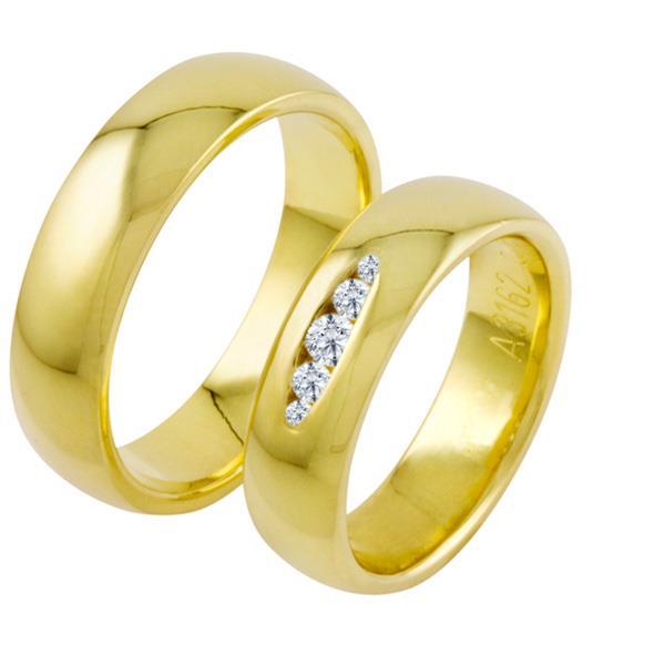 Обручальные кольца классические недорого