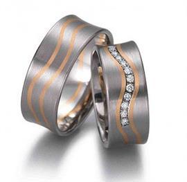 Обручальные кольца с бриллиантами, артикул R-ТС 1572