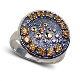 Кольцо Созерцание серебро, артикул R-134512