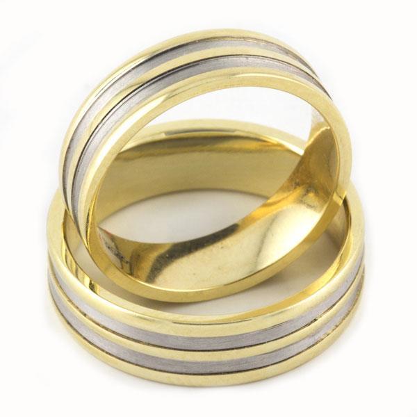 Обручальное кольцо из золота 585 пробы, артикул R-1716