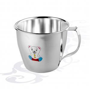 Детская серебряная чашка Мишка, арт. R-AZ20306B