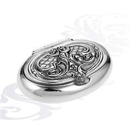 Серебряная таблетница, артикул R-0130407A