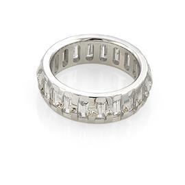 Эксклюзивное обручальное кольцо с бриллиантами из золота 585 пробы, артикул R-В4192