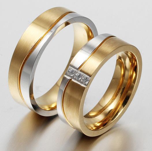 Обручальные кольца золото 585