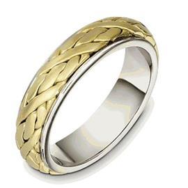 Обручальное кольцо из золота 750 пробы, артикул R-033761-750