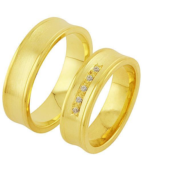 Дизайнерские обручальные парные кольца, артикул R-ТС 1739
