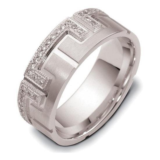 ... Обручальное кольцо с бриллиантами серии