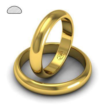 Обручальное кольцо золото