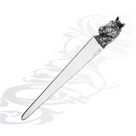 Серебряный нож для бумаги лошадь, артикул R-0160194A