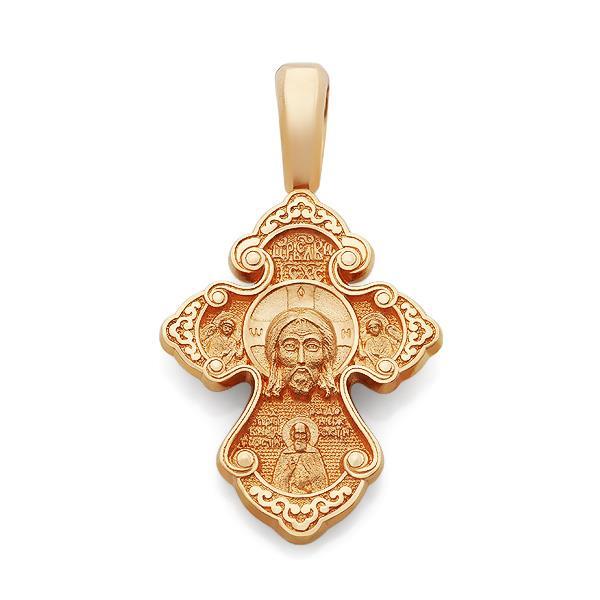 Православный крест Нерукотворный образ Иисуса Христа, святой Спиридон Тримифунтский